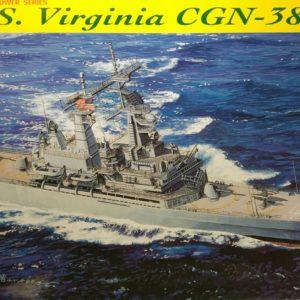 Modelbouw Dragon 7090 U.S.S. Virginia CGN-38