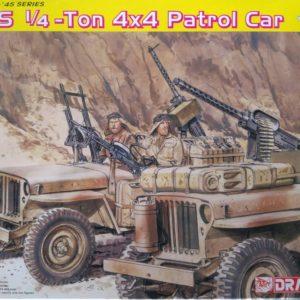 Dragon 6745 SAS 1/4 Ton 4X4 Patrol Car modelbouw