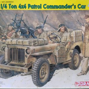 Dragon 6724 SAS 1/4 Ton 4X4 Patrol Commander's Car modelbouw