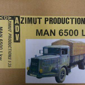 ADV Azimut MAN 6500 militaire modelbouw