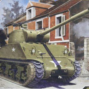 Academy U.S Army M36B1 GMC militaire modelbouw