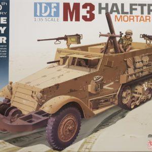 Dragon 3597 IDF M3 Half Track Mortar Carrier militaire modelbouw