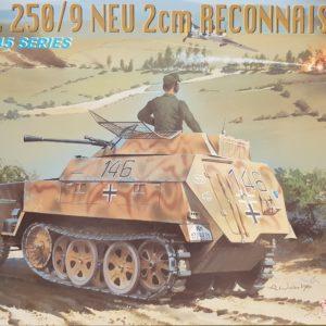 Dragon 6106 Sd.Kfz. 250 /9 Neu 2cm Reconnaissance