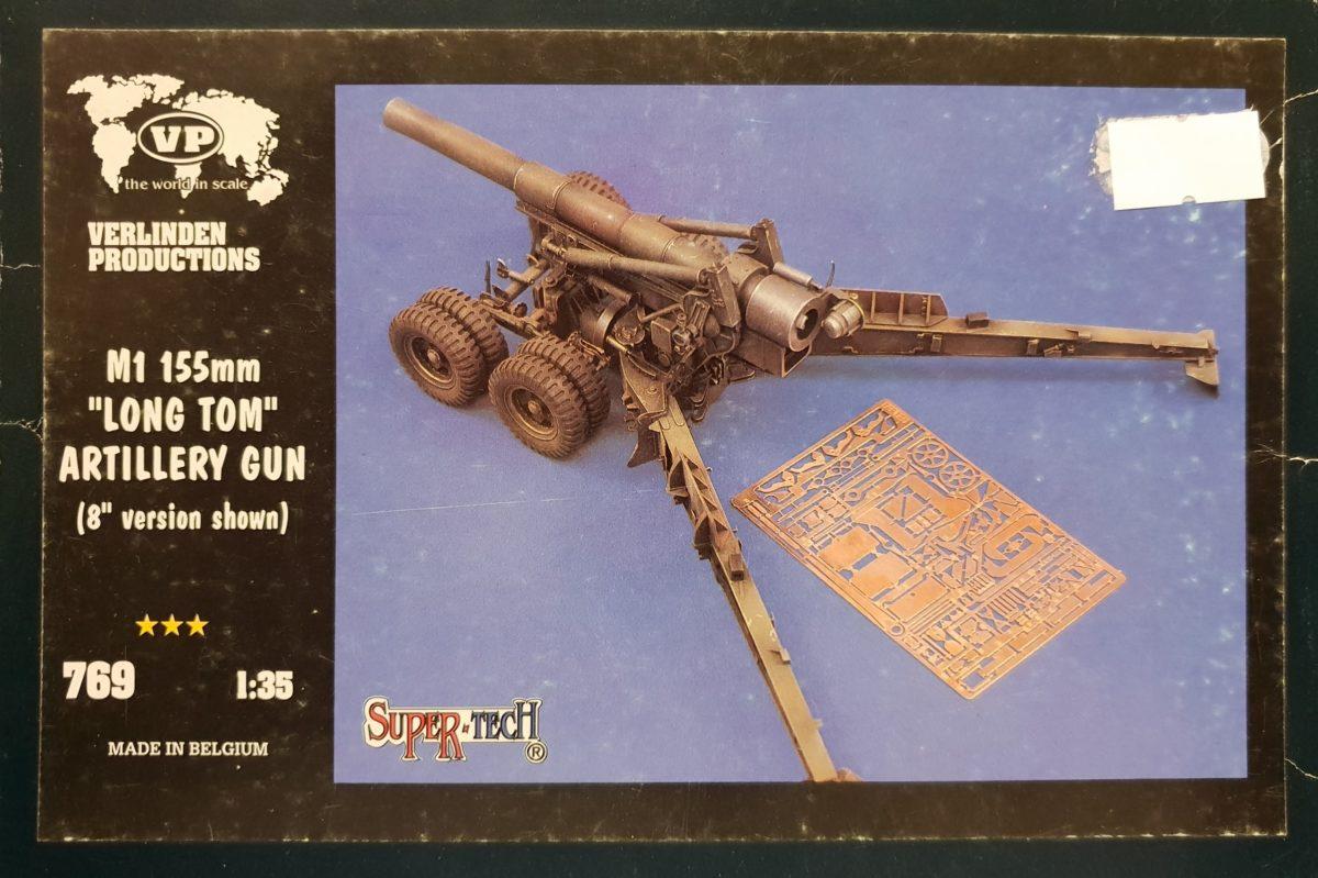 """5 Verlinden 769 M1 155mm """"Long Tom"""" Artillery Gun"""