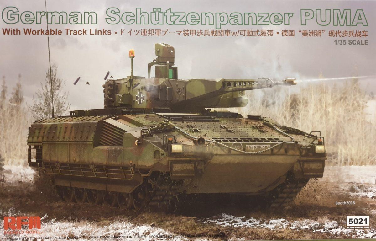 01 Rye Field Model 5021 German Schützenpanzer PUMA w/ workable tracks