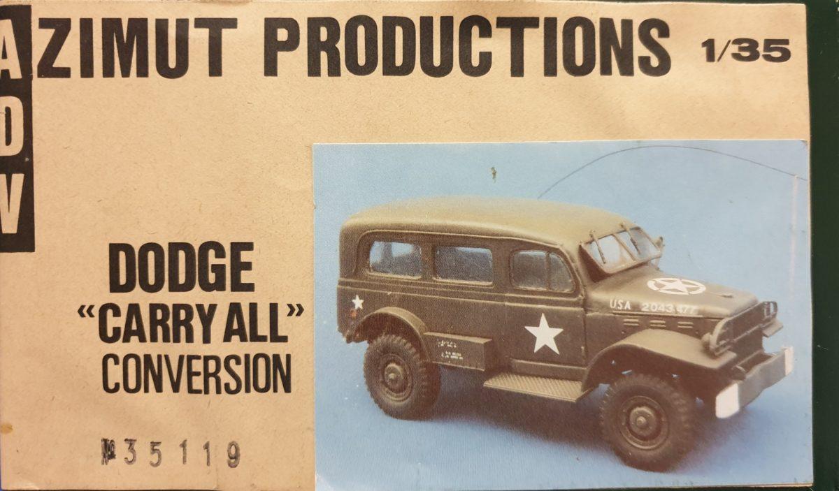 "1 ADV Azimut 35119 Dodge ""Carry All"" conversion"
