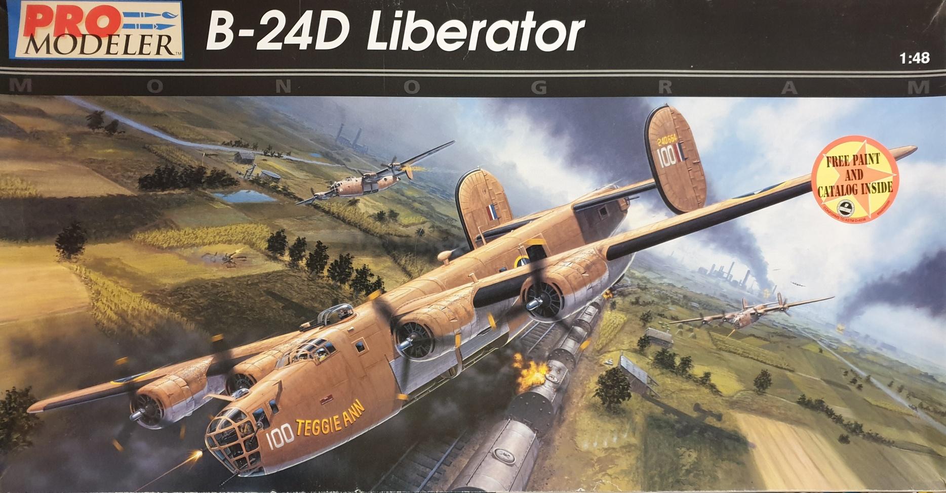 Monogram 5932 B-24D Liberator