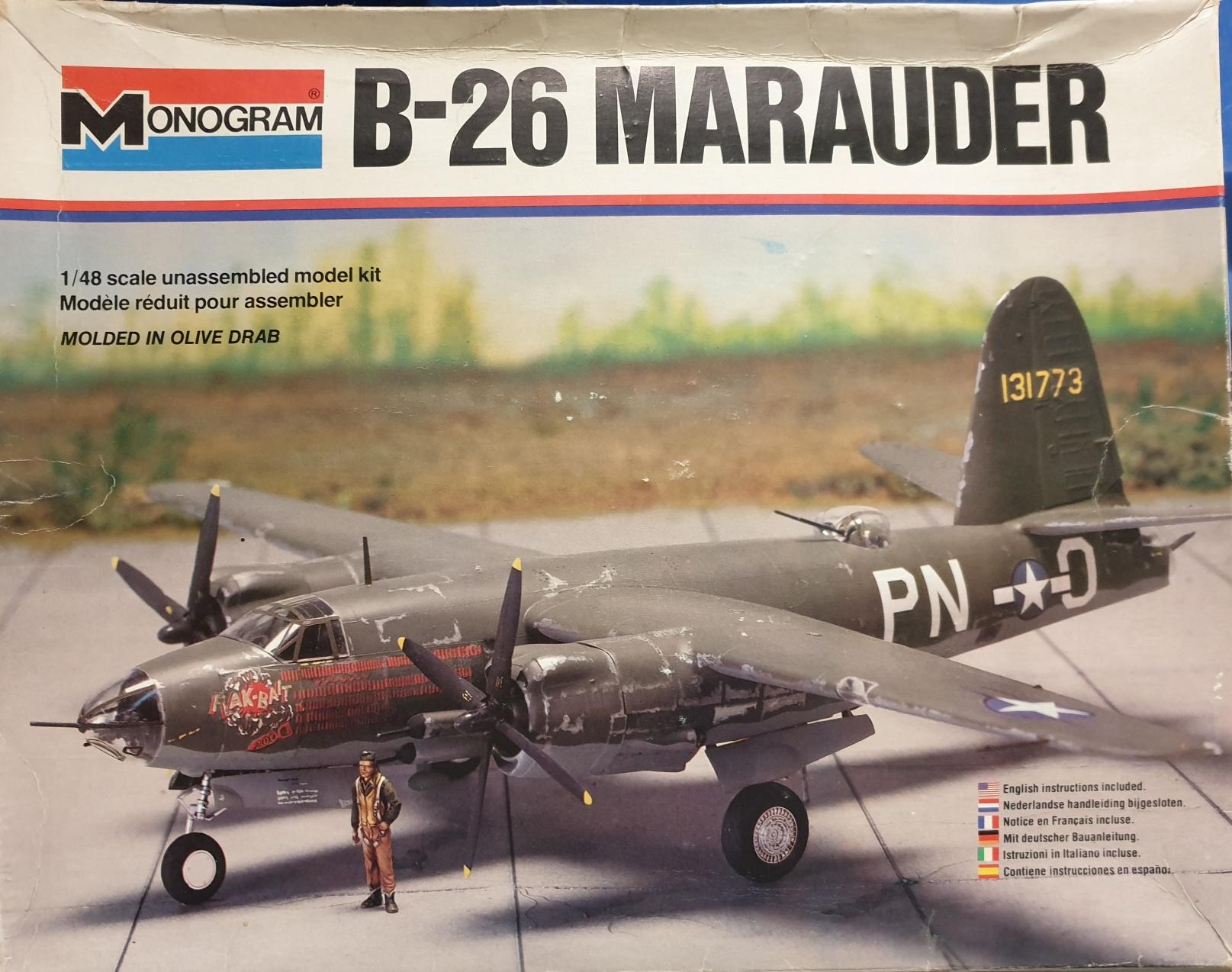 Monogram 5501 B-26 Marauder