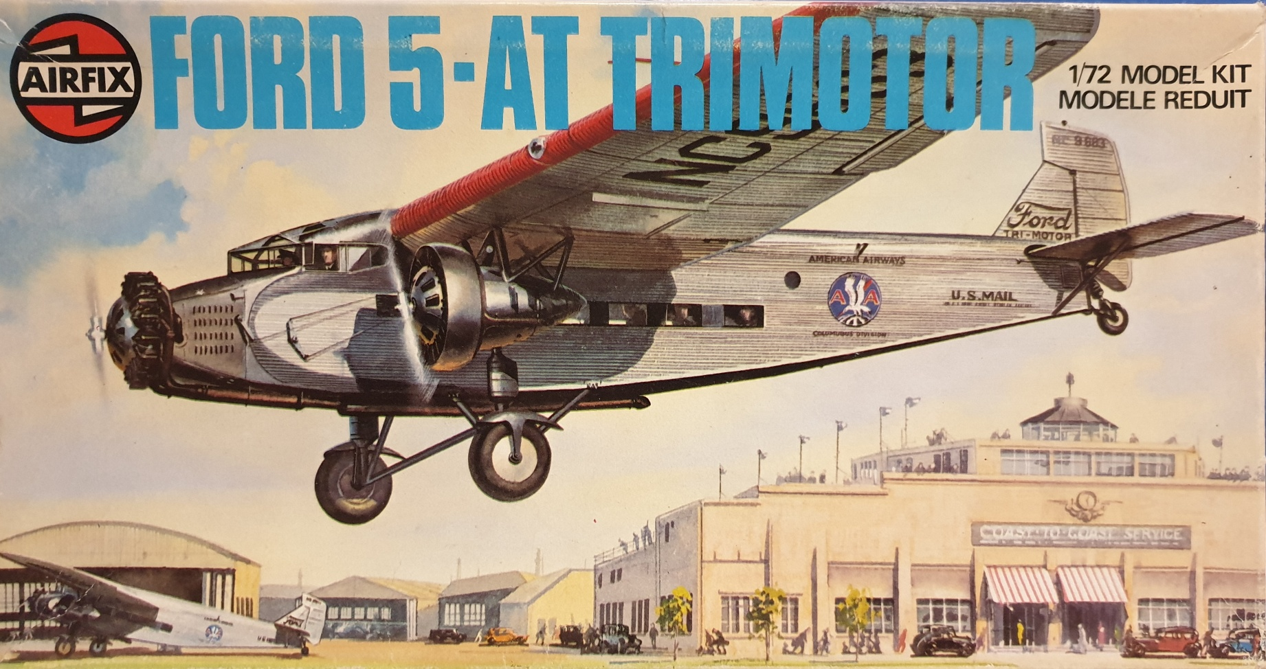 Airfix 04009-9 Ford 5-AT Trimotor